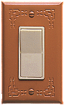 Terra Cotta Switch Plates Indian design