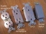 Stainless Steel Laminate finish receptacles