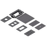 APC-E976AK2 Floor Box Kit Boxes Single boxes for APC-E9761,2,&3 covers above.
