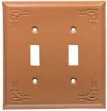 Terra Cotta Indian Design Switch Plates
