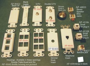 Bermuda Sand Switch Plates kiw voltage products,