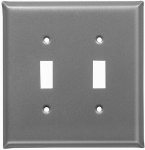 pewter finish switch plates