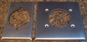 Range and Dryer vent cover plates