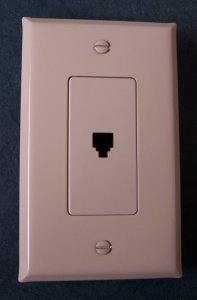 Almond metal switch plates housings for low voltage