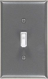 Pewter Switch Plate Cover